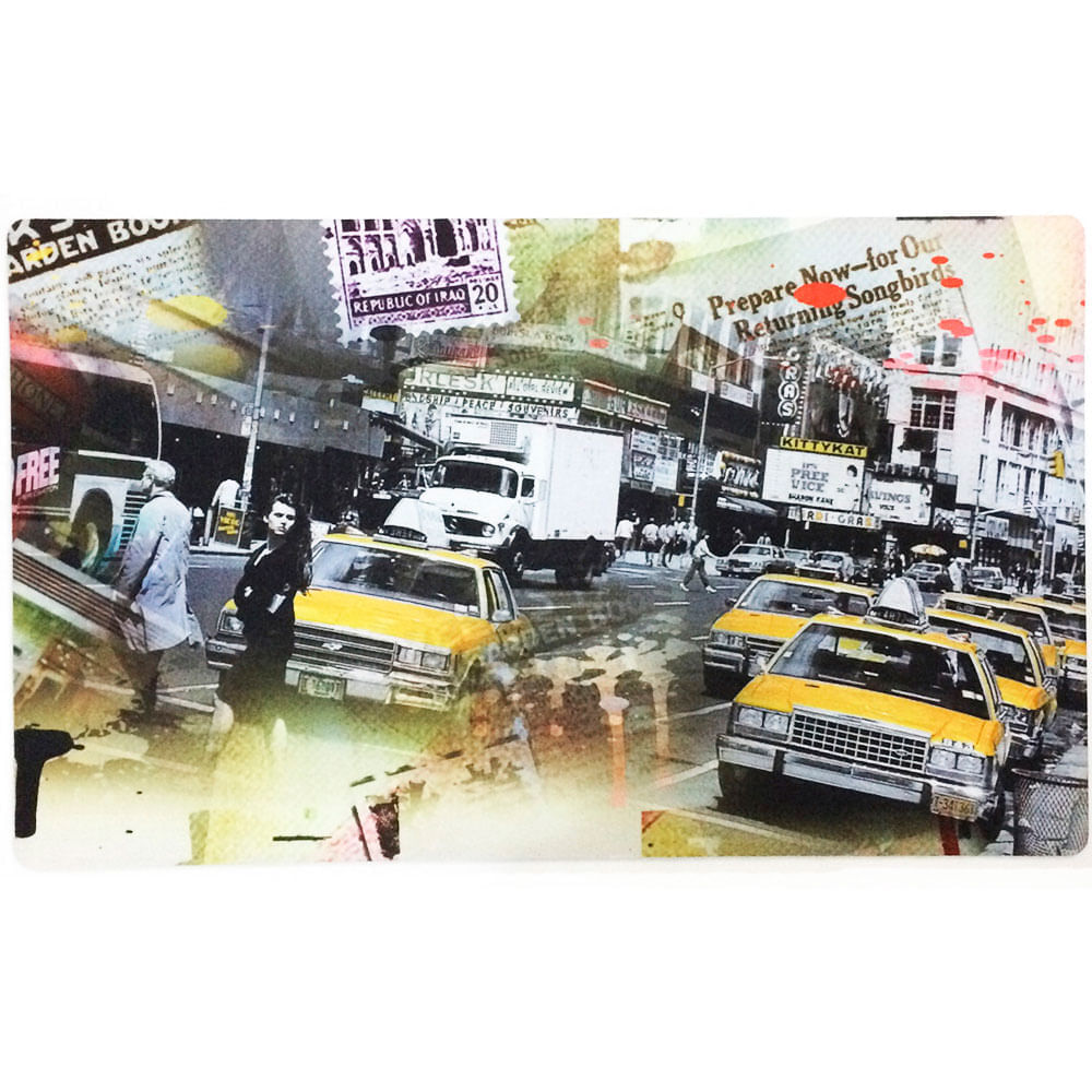 Tapete-De-Entrada-Taxi-New-York-Newspaper