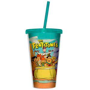 Copo-Canudo-Os-Flintstones--------------------------------------------------------------------------
